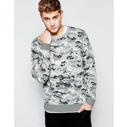 Lee Allover Print Sweatshirt - Grey