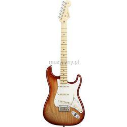 Fender American Stratocaster MN Siena Sunburst, podstrunnica klonowa Płacąc przelewem przesyłka gratis!