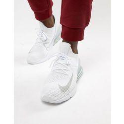 Nike Air Max 270 Trainers In White AH8050 100 White Buty męskie białe w Asos