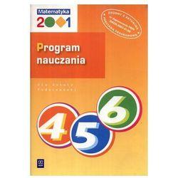 Matematyka 2001. Program nauczania dla szkoły podstawowej. Klasy 4-6