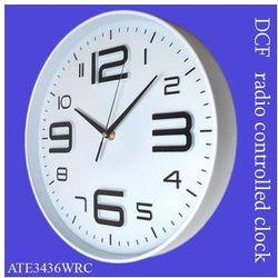 Zegar ALFA sterowany radiowo /biały