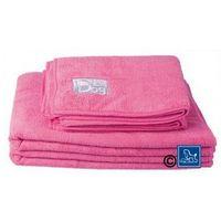 Ręcznik Chadog z mikrofibry do kąpieli psów 60cm x 100cm, różowy