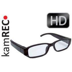Okulary szpiegowskie z kamerą 1280x720 HD 720p microSD