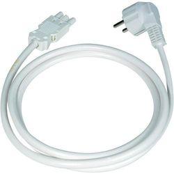 Przewód zasilający do listwy Ehmann Vario Combi, 3600 W, H05VV-F 3G1,5 mm2, 1.5 m, biały