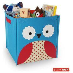 SKIP HOP Pudełko na zabawki ZOO Jumbo - Sowa