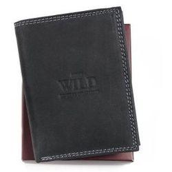 Portfel męski skórzany Always Wild N4 MH BLACK