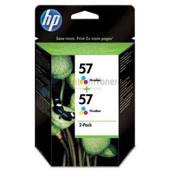 HP oryginalny ink C9503AE, No.57, color, 800 (2x400)s, 2x17ml, HP 2-Pack, C6657AE, DeskJet 450, 5652, psc-7150