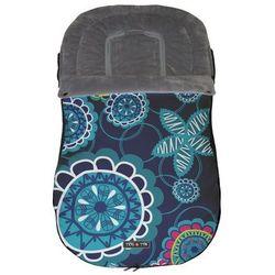 Tris&Ton, Universalny śpiworek do wózka, Floral Azur Darmowa dostawa do sklepów SMYK