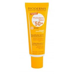 BIODERMA Photoderm Max Tinted Cream SPF50+ preparat do opalania twarzy 40 ml dla kobiet Light Colour