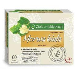 Morwa biała w tabletkach Morwa Biała 30kaps.