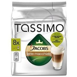 TASSIMO Jacobs Krönung LATTE MACCHIATO 286g zielone opakowanie