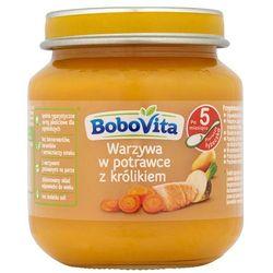BOBOVITA 125g Warzywa w potrawce z królikiem po 5 miesiącu