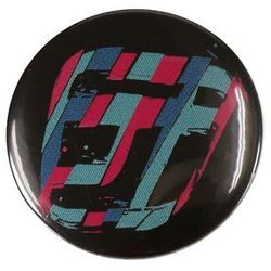 plakietka Funstorm Buttons AU02316 - Black