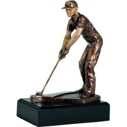Statuetka golf, golfista, longest drive