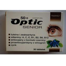 Optic Senior 50 plus tabletki 30 sztuk Kurier: 13.75, odbiór osobisty: GRATIS!