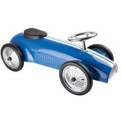 Jeździk metalowy dla Dzieci Niebieski Bolid