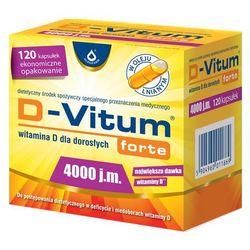 D-Vitum Forte Witamina D3 4000IU 120 kaps.