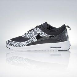 Sneakers buty Nike WMNS Air Max Thea Print black / white / metalic silver (599408-010)