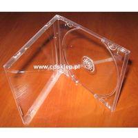 Pudełko plastikowe na 1CD przezroczysty tray