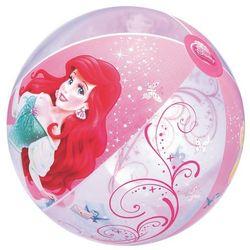 Bestway, Księżniczki Disneya, dmuchana piłka plażowa, 51 cm Darmowa dostawa do sklepów SMYK