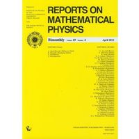 Reports on Mathematical Physics 69/2 Kraj (opr. miękka)