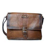ALIVE 8 torba skóra naturalna firmy Daag na ramię z miejscem na notebook unisex