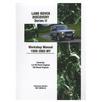 Land Rover Discovery Series II Workshop Manual 1999-2003 MY