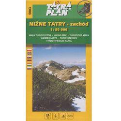 Niżne Tatry część zachodnia mapa 1:50 000 TatraPlan (opr. miękka)
