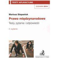 Prawo międzynarodowe Testy aplikacyjne 8 (opr. miękka)