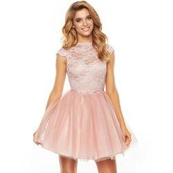 Sukienka Taylor w kolorze pudrowego różu
