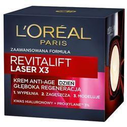 LOREAL Paris 50ml Revitalift Laser X3 Krem Anti-Age głęboka regeneracj