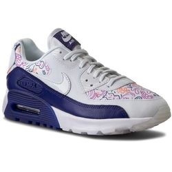 Buty NIKE - W Air Max 90 Ultra Print 833339 100 White/White Dk Purple Dust