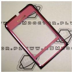 Obudowa Nokia 3250 przednia różowa