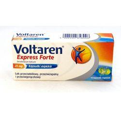 Voltaren Express Forte, 25 mg, kapsułki miękkie, 10 szt