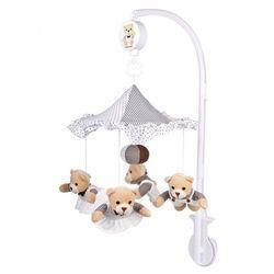 Canpol Babies, karuzela pluszowa Misie pod parasolem