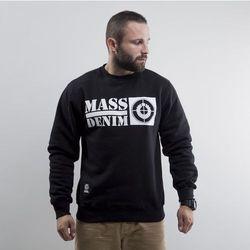 Mass Denim bluza crewneck Target black