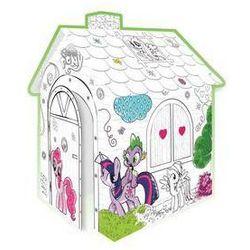 Domek dla dzieci Mochtoys papierowy - My Little Ponny