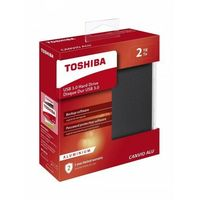 "TOSHIBA External HDD 2TB 2,5"" Canvio Alu USB 3.0"