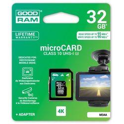 karta pamięci GOODRAM microSDHC 32GB M3AA class 10 UHS-I U3 MLC 90/95MB/s