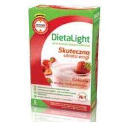 Dieta Light Koktajl truskawkowy x 5 porcji