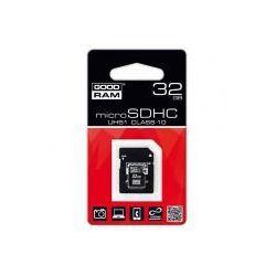 GOODRAM microSDHC 32GB class 10 UHS-I + adapter SD