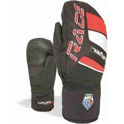ski rękawice LEVEL - Race Jr Mitt Red (11) rozmiar: 7 (JR XXL)