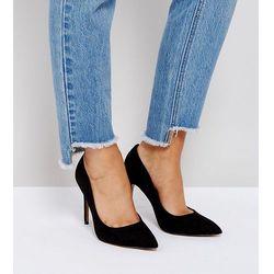 ASOS PENALTY Pointed High Heels Grey Buty damskie szare w Asos