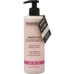 MASTERLINE Szampon Color Gloss - Szampon do włosów farbowanych 400ml
