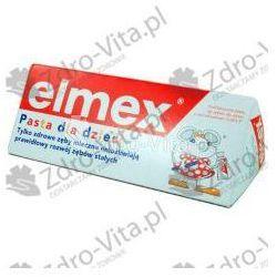 Elmex, pasta dla dzieci,do 6lat,(Gaba), 50 ml