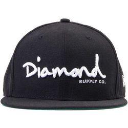 czapka DIAMOND - Og Script Black Blk (BLK)