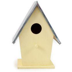 Domek dla ptaków, żółty 022, 18 cm DAWI0022LS