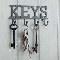 Wieszak na klucze KEYS - 4 haczyki | KITCHEN CRAFT LIVING NOSTALGIA