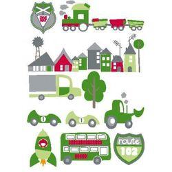 Kids Concept Naklejki Ścienne Samochody