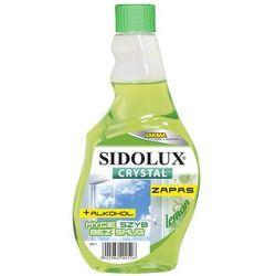 SIDOLUX 500ml Crystal Lemon płyn do mycia szyb zapas